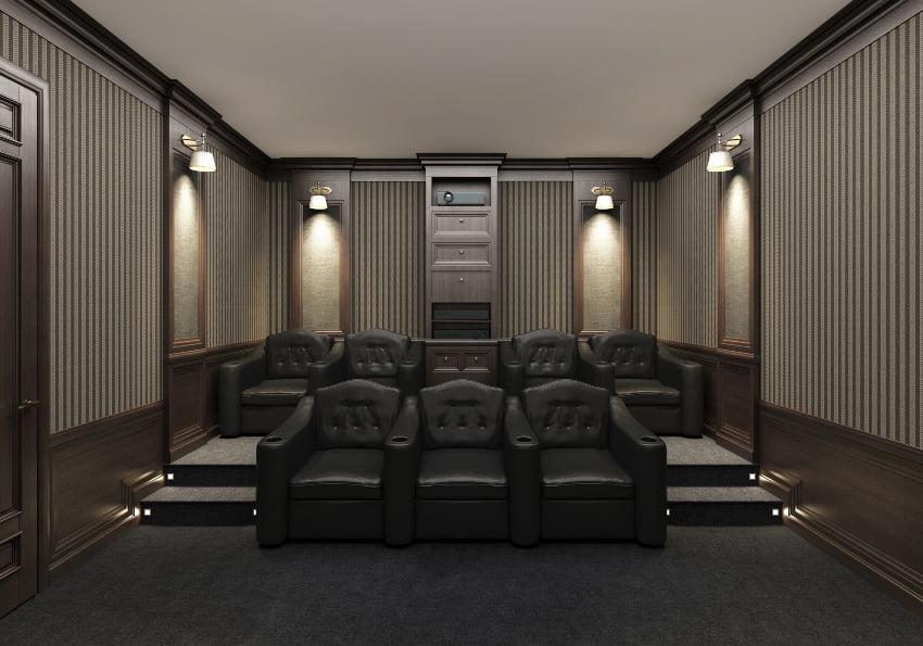 wall sconces for home theater lighting